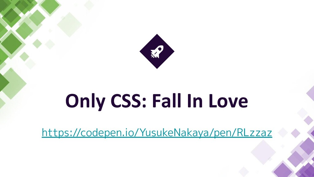 Only CSS: Fall In Love https://codepen.io/Yusuk...