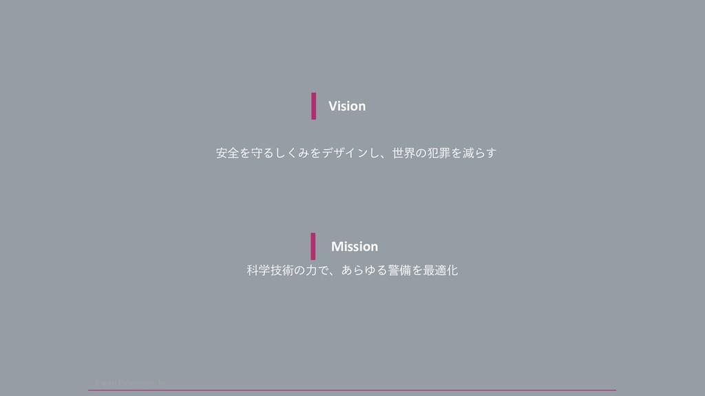 4JOHVMBS 1FSUVSCBUJPOT *OD Mission Պֶٕज़ͷྗͰɺ͋ΒΏ...