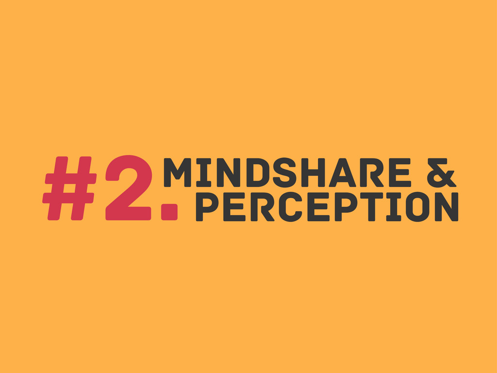 Mindshare & perception #2.