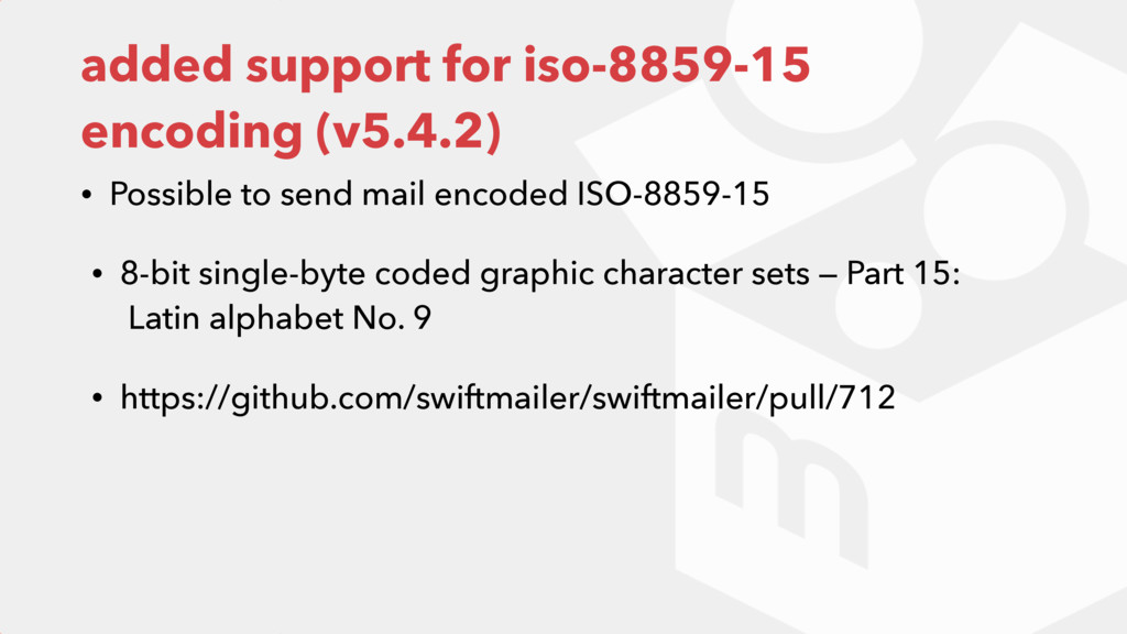 added support for iso-8859-15 encoding (v5.4.2)...