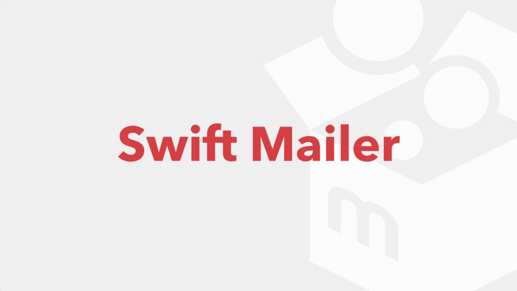 Swift Mailer