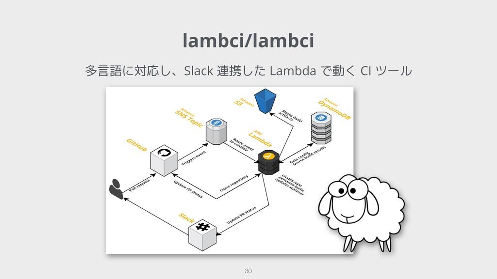 lambci/lambci !30 多言語に対応し、Slack 連携した Lambda で動く...