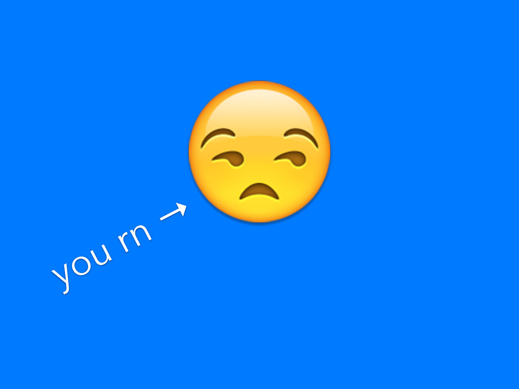 you rn →