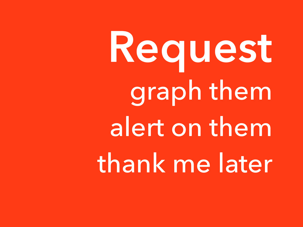 graph them alert on them thank me later Request