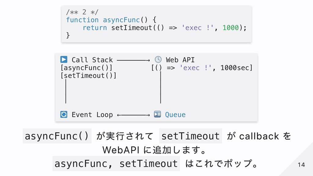 /** 2 */ function asyncFunc() { return setIimeo...