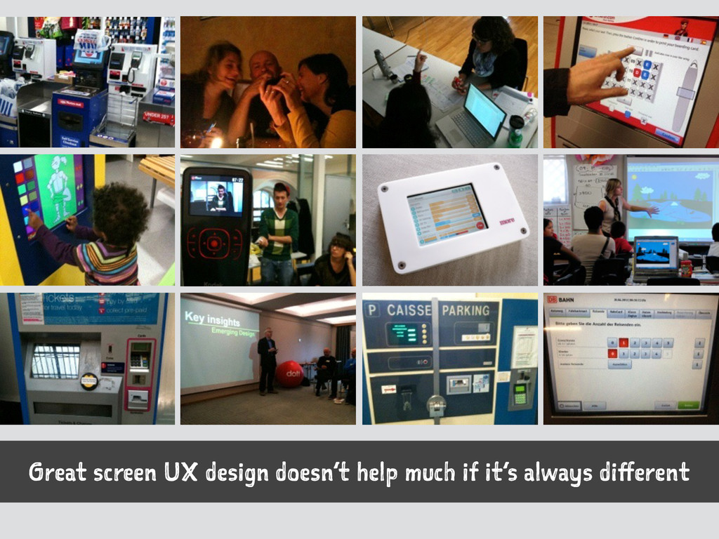 Great screen UX design doesn't help much if it'...