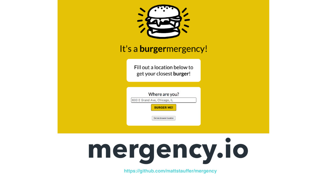 mergency.io https://github.com/mattstauffer/mer...