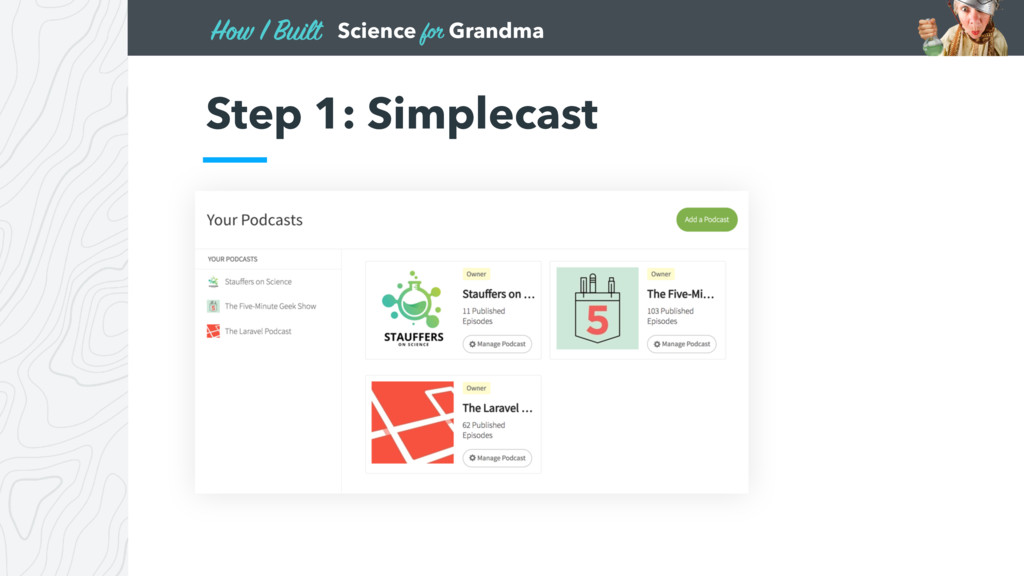 Science for Grandma How I Built Step 1: Simplec...