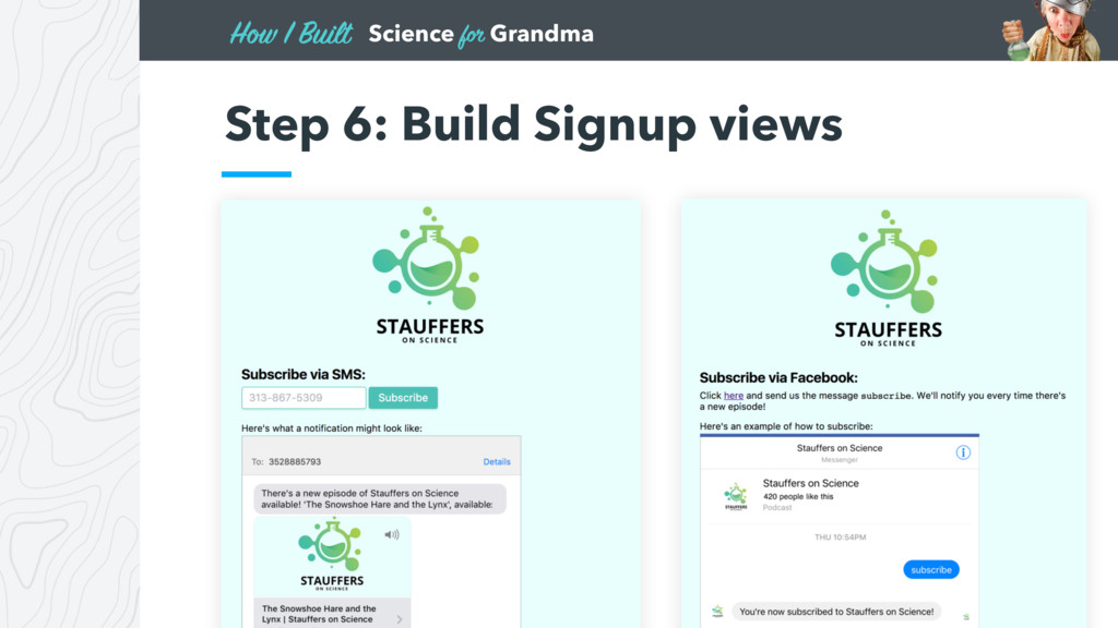 Science for Grandma How I Built Step 6: Build S...