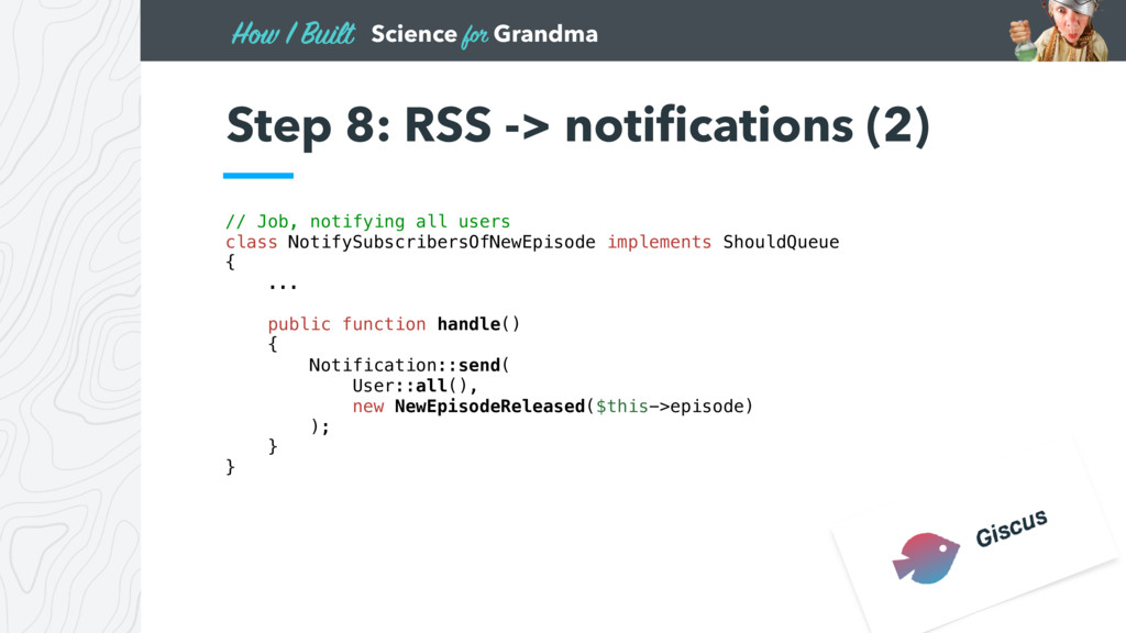 Science for Grandma How I Built Step 8: RSS -> ...