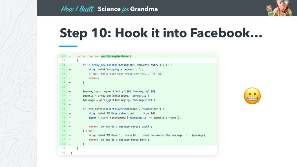 Science for Grandma How I Built Step 10: Hook i...
