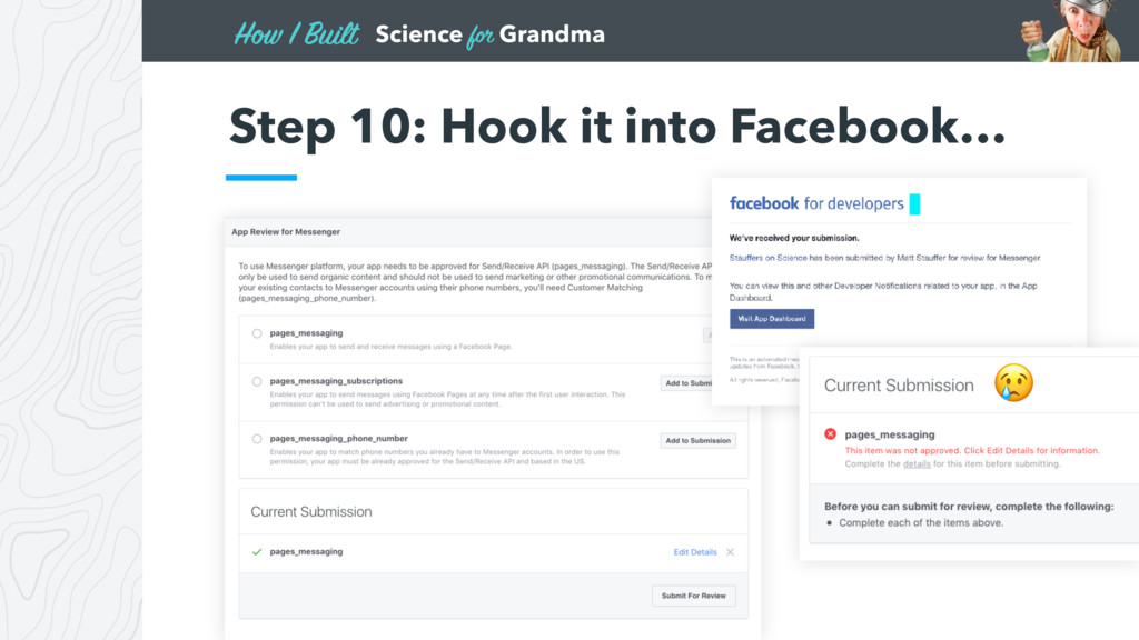 Science for Grandma How I Built • Lorem ipsum d...