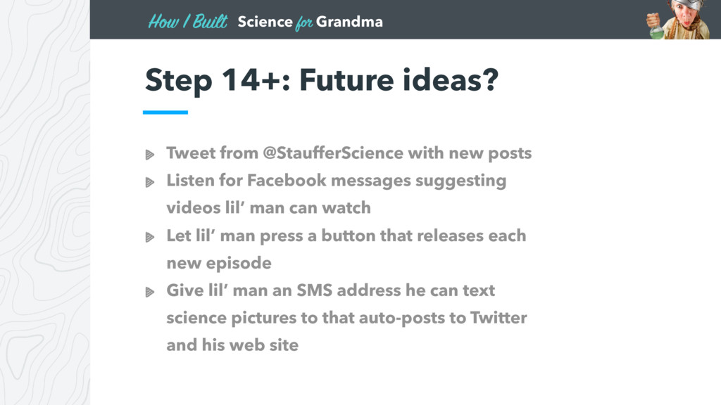 Science for Grandma How I Built Tweet from @Sta...