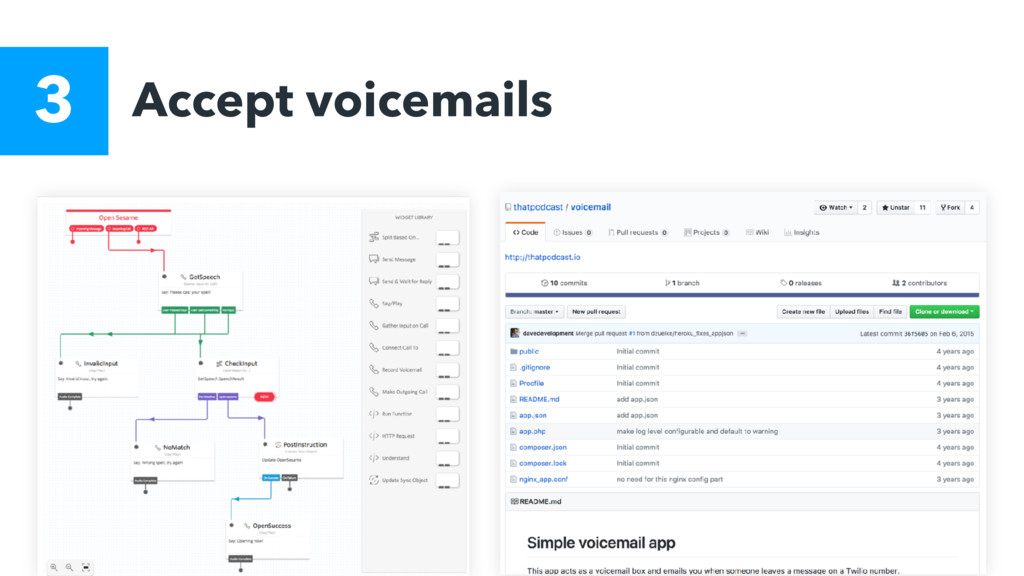 Accept voicemails 3