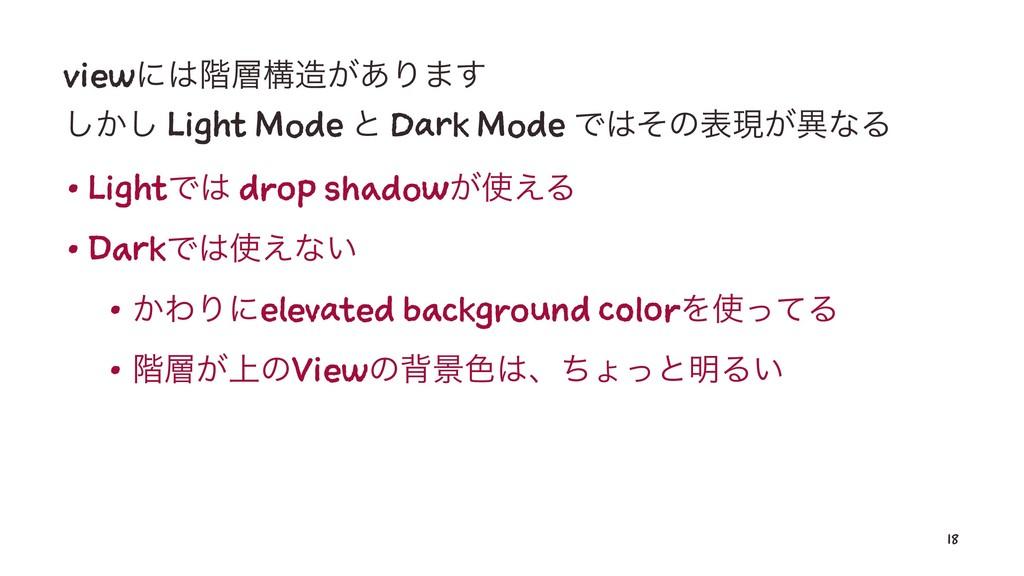 viewʹ֊ߏ͕͋Γ·͢ ͔͠͠ Light Mode ͱ Dark Mode Ͱͦͷ...