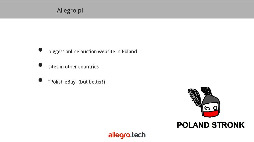 Allegro.pl ● biggest online auction website in ...