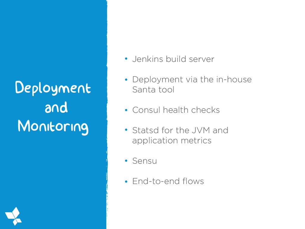 Jenkins build server Deployment via the in-hous...