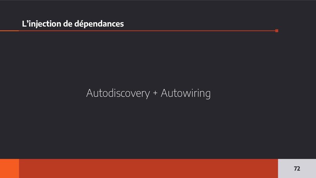 L'injection de dépendances Autodiscovery + Auto...