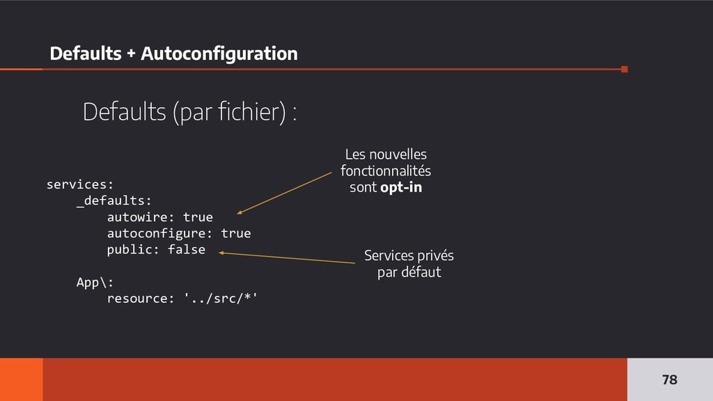 Defaults + Autoconfiguration 78 services: _defa...