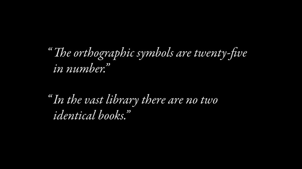 The orthographic symbols are twenty-five in numb...