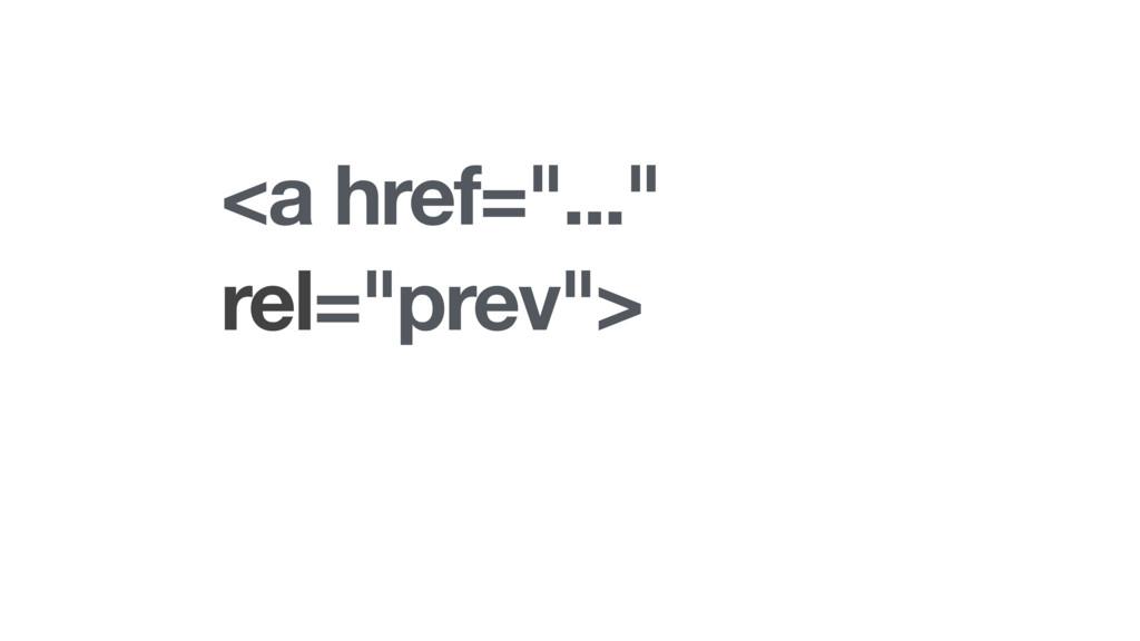 "<a href=""..."" rel=""prev"">"