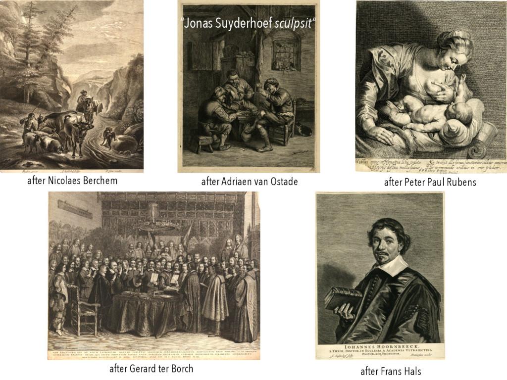 after Adriaen van Ostade after Nicolaes Berchem...