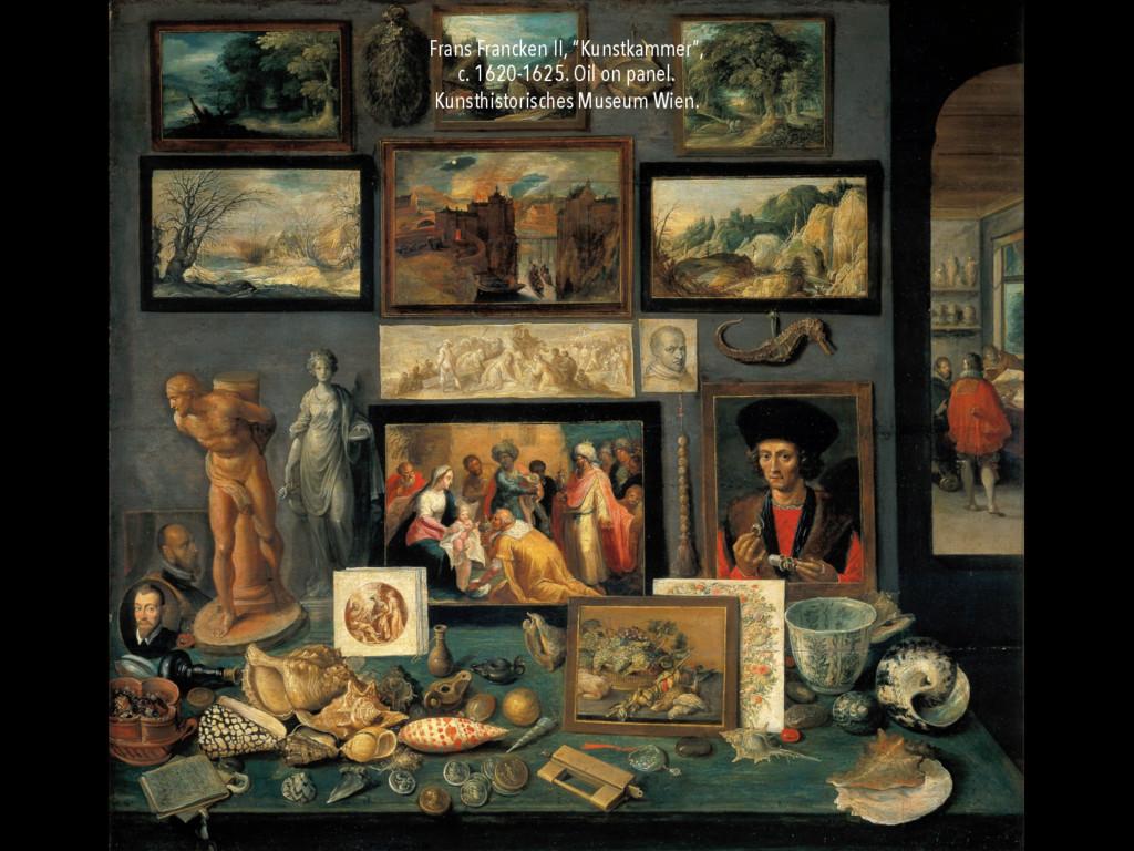 "Frans Francken II, ""Kunstkammer"", c. 1620-1625...."