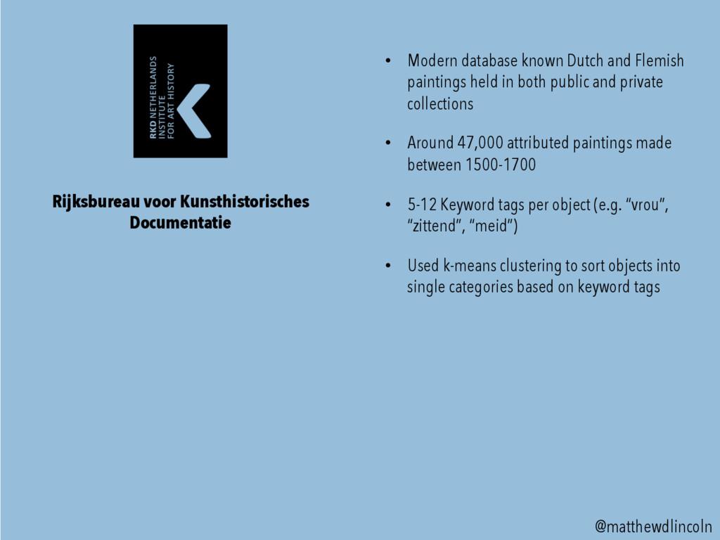 @matthewdlincoln • Modern database known Dutch...