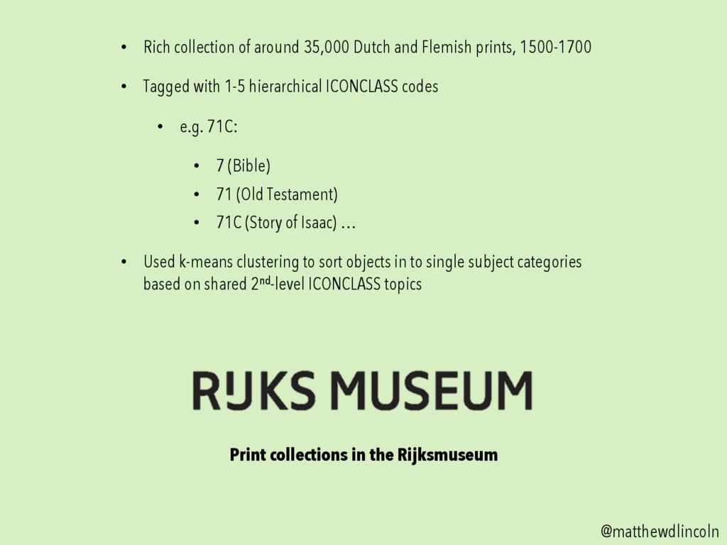 Print collections in the Rijksmuseum @matthewdl...