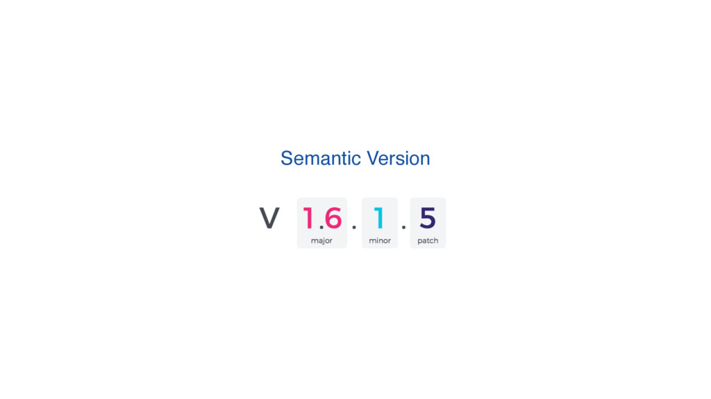 Semantic Version