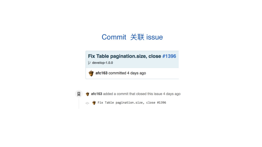 Commit ىᘶ issue