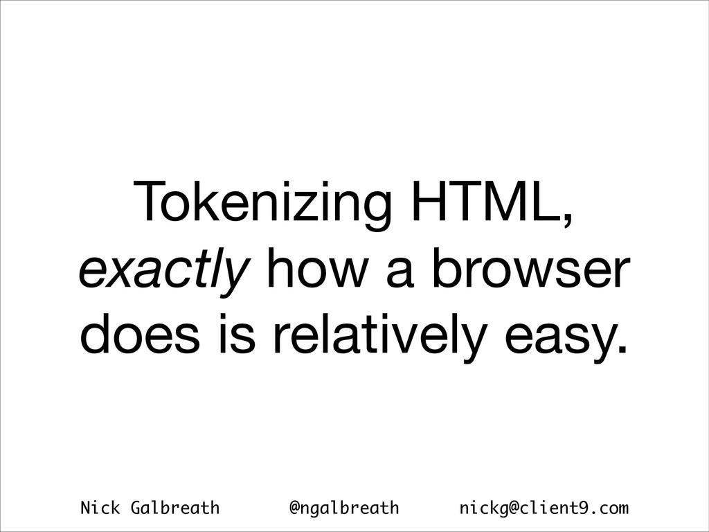 Nick Galbreath @ngalbreath nickg@client9.com To...