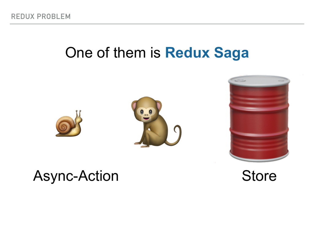 REDUX PROBLEM  Store   Async-Action One of them...