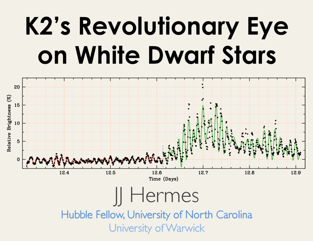 K2's Revolutionary Eye on White Dwarf Stars JJ ...
