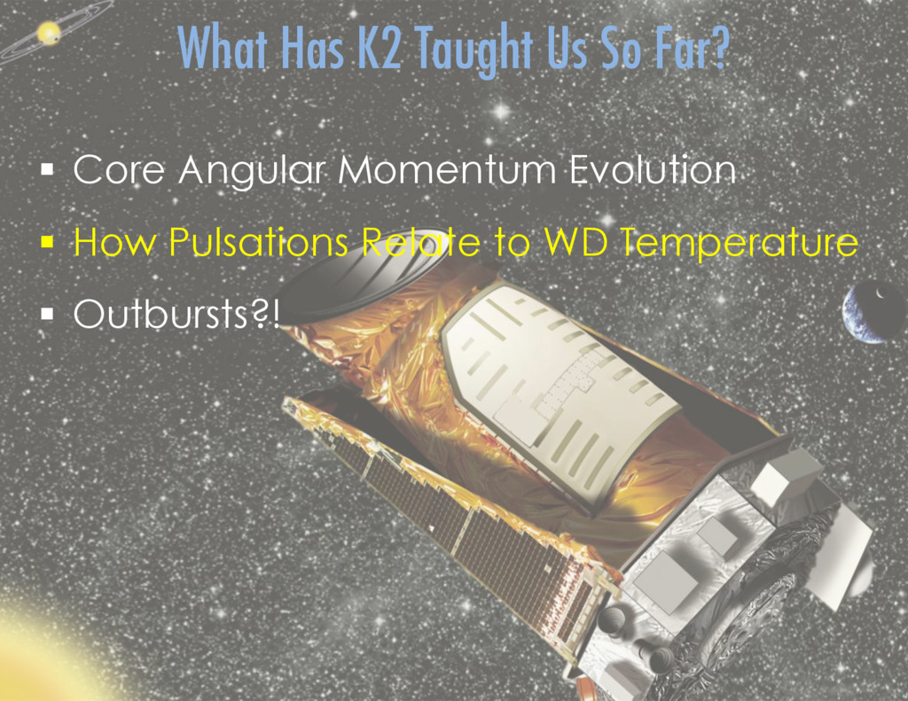 §  Core Angular Momentum Evolution §  How Pul...