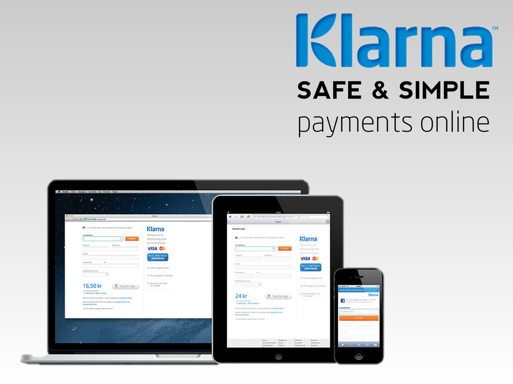 SAFE & SIMPLE payments online