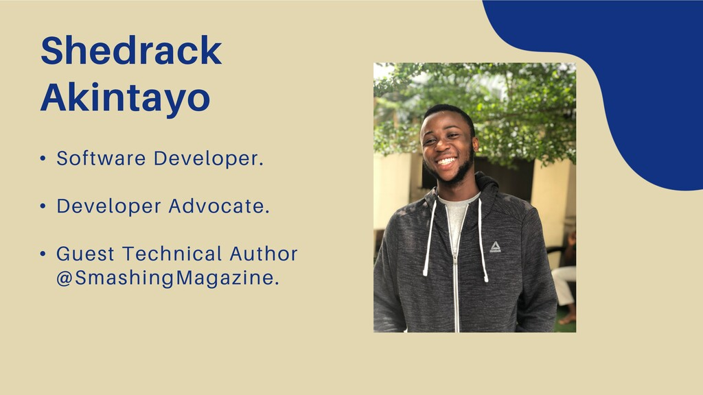 • Software Developer. • Developer Advocate. • G...