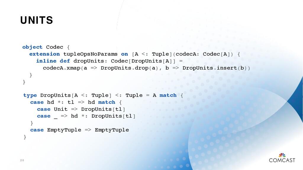 UNITS 2 0 object Codec { extension tupleOpsNoPa...