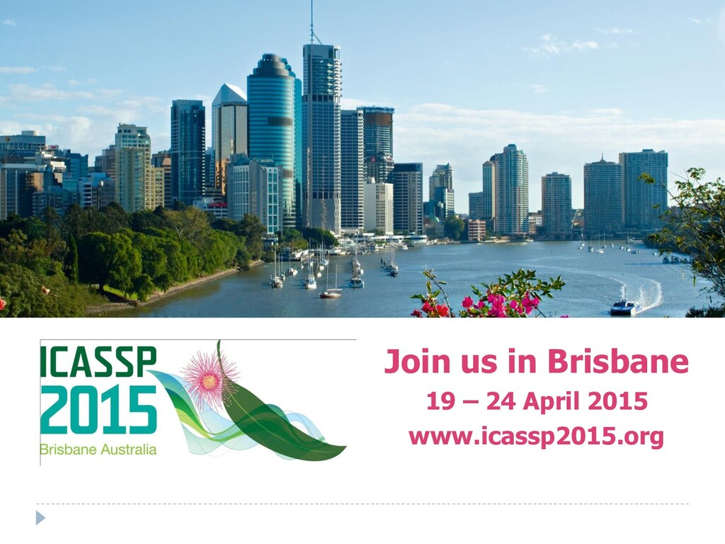 Join us in Brisbane 19 – 24 April 2015 www.icas...