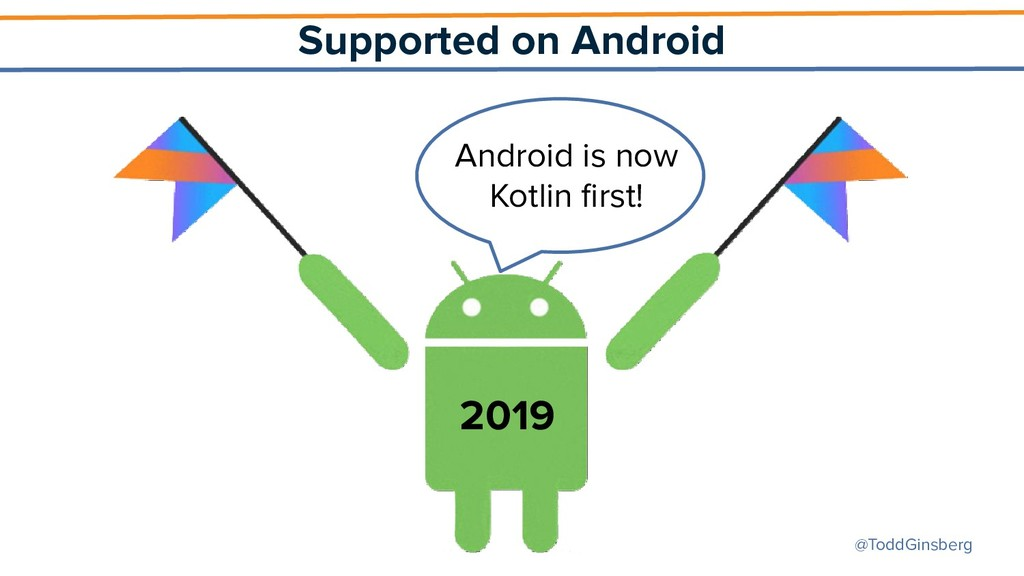 @ToddGinsberg Supported on Android 2019 Android...