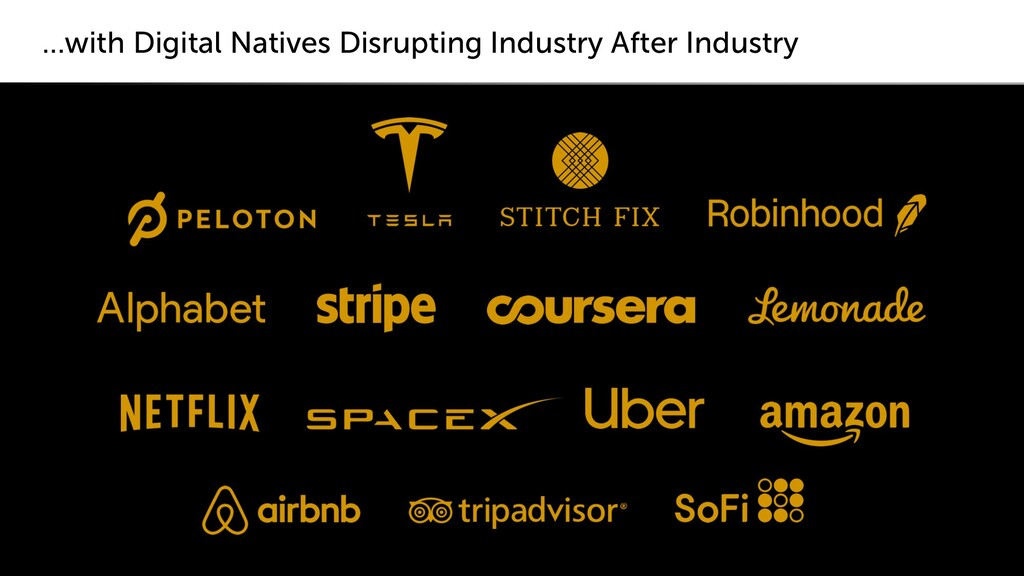 …with Digital Natives Disrupting Industry After...