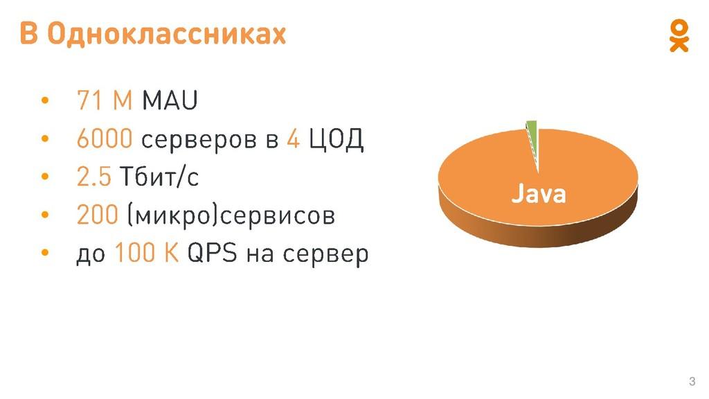 3 • • • • • Java
