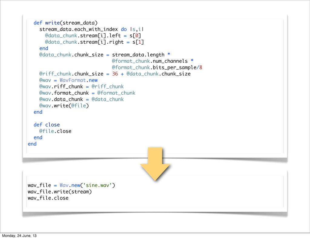 def write(stream_data) stream_data.each_with_in...