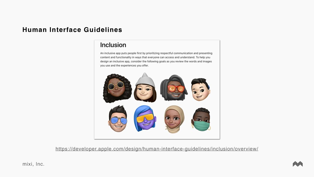 mixi, Inc. Human Interface Guidelines https://d...