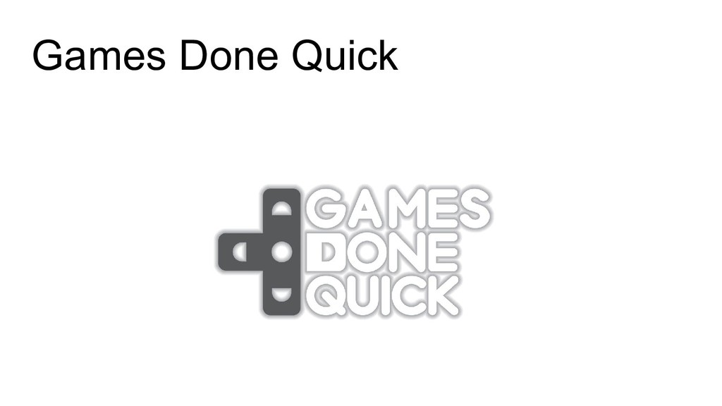 Games Done Quick