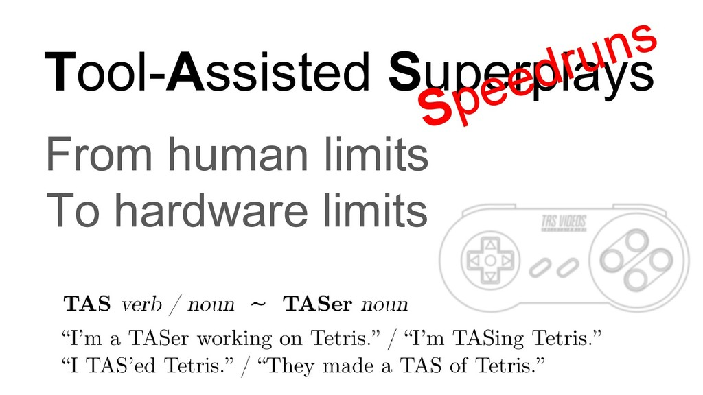 "TAS verb / noun ~ TASer noun ""I'm a TASer worki..."