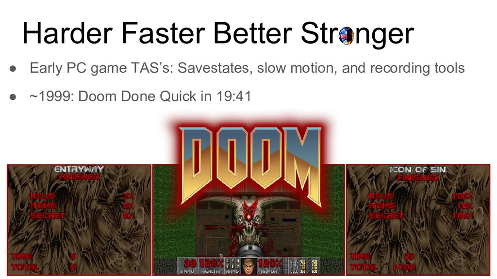 Harder Faster Better Stronger ● Early PC game T...