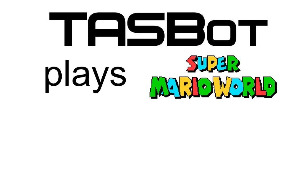 Super Mario World Super Mario Bros. TASBot plays