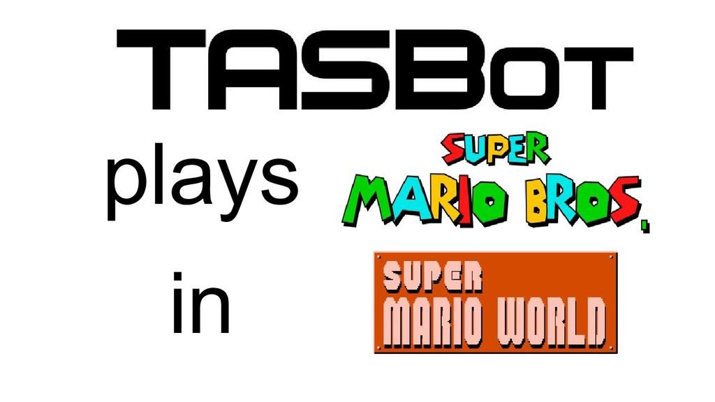Super Mario World Super Mario Bros. TASBot play...