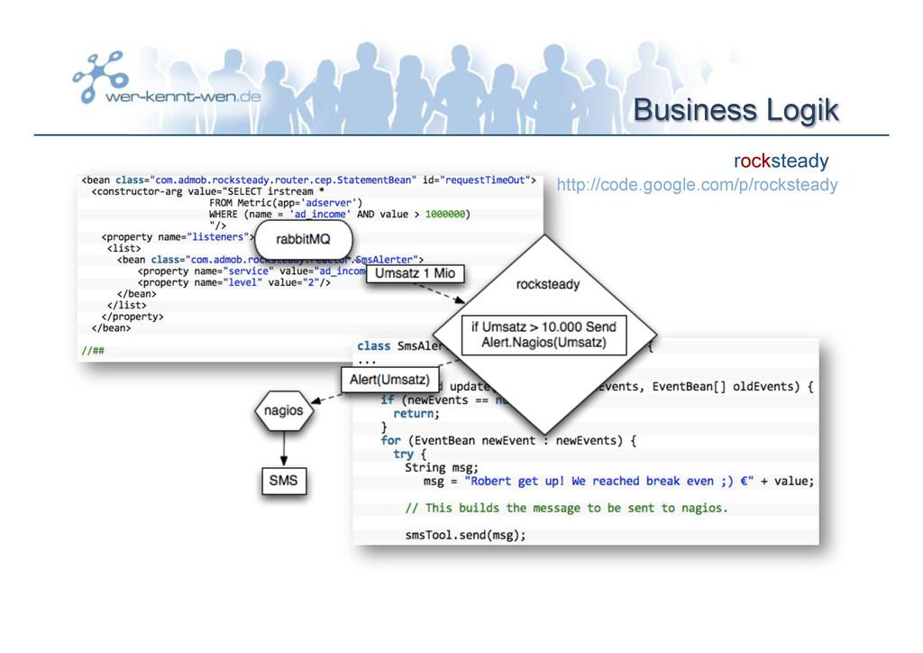 Business Logik rocksteady http://code.google.co...